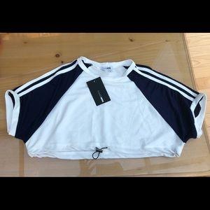 Crop sweatshirt.  NEW w/ tags. XS.